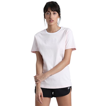 Downtown T-Shirt, Rosewater, small-IND
