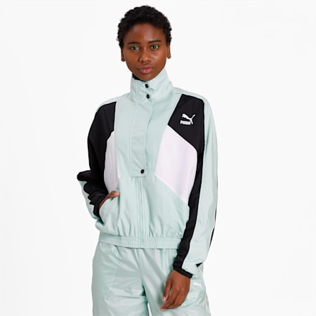TFS Woven Track Jacket, Mist Green, small-IND