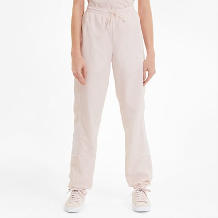 Tailored for Sport Women's Track Pants, Rosewater, small