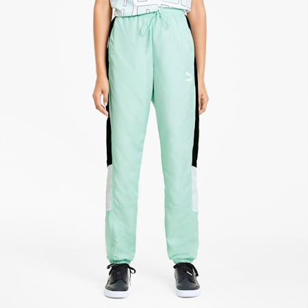 Tailored for Sport Women's Track Pants, Mist Green, small