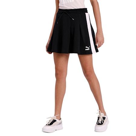 Classics T7 Pleated Skirt, Puma Black, small-IND