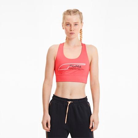 Evide Women's Crop Top, Ignite Pink, small