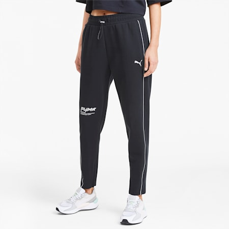Evide Women's Sweatpants, Puma Black, small-SEA