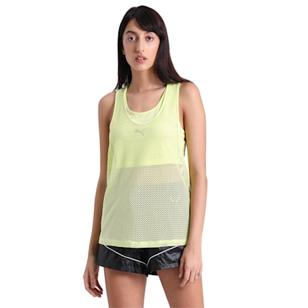 Evide Open Mesh Tank, Sunny Lime, small-IND