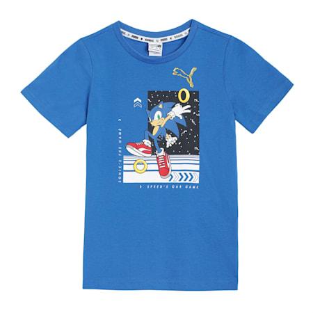 PUMA X SEGA T-Shirt, Palace Blue, small-IND