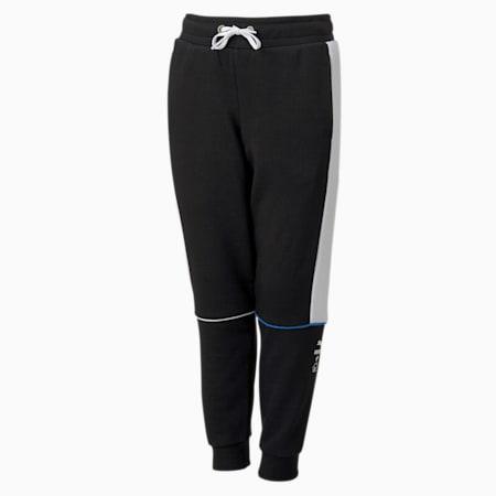 PUMA x SONIC Boys' Sweatpants, Puma Black, small-SEA