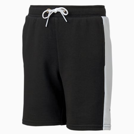 PUMA x SEGA Boys' Shorts, Puma Black, small-SEA