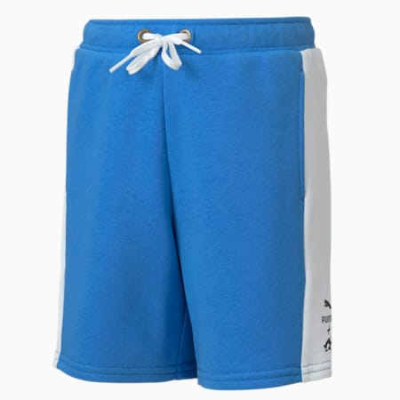 PUMA x SEGA Boys' Shorts, Palace Blue, small-SEA