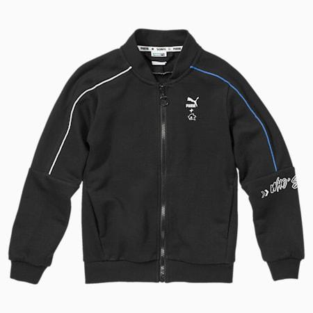 PUMA x SONIC Kids' Bomber Jacket, Puma Black, small