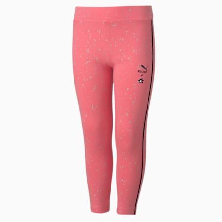 PUMA x SONIC Girls' Leggings, Bubblegum, small