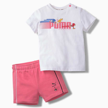 PUMA x SONIC Baby Set, Puma White, small-SEA