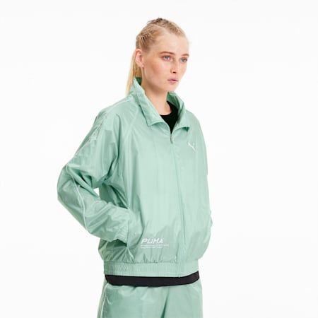 Evide Women's Jacket, Mist Green, small-SEA