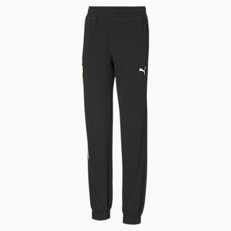 Scuderia Ferrari  Unisex Kids Sweat Pants, Puma Black, small-IND
