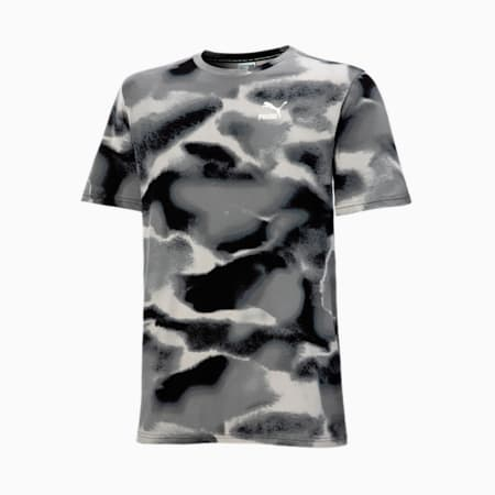 Men's Cloud Pack AOP Tee, Puma Black-AOP, small-SEA