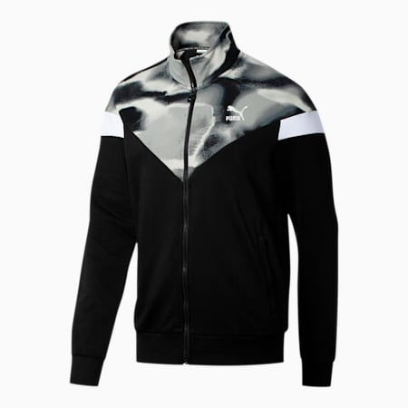 Men's Cloud Pack MCS Track Jacket, Puma Black, small-SEA