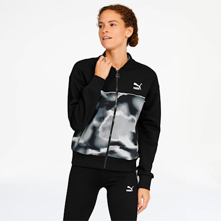 Cloud Pack Women's Track Jacket, Puma Black, small