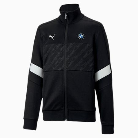 BMW M Motorsport Kids T7 Track Jacket, Puma Black, small-IND