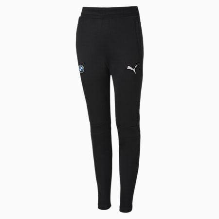 BMW MMS Kids  T7 Track Pants, Puma Black, small-IND