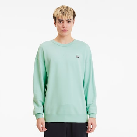 Downtown Crew Men's Sweater, Mist Green, small