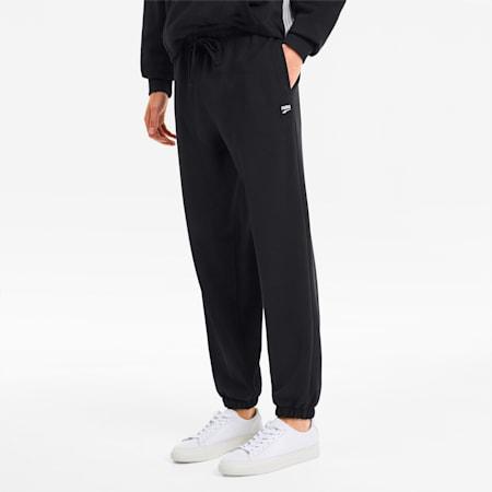 Downtown Men's Sweatpants, Puma Black, small-SEA
