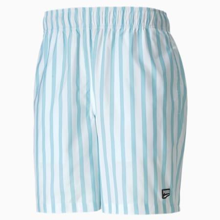 "Downtown 8"" Men's Shorts, Aquamarine, small-SEA"