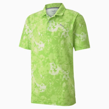Tournament Men's Golf Polo Shirt, Greenery, small-SEA