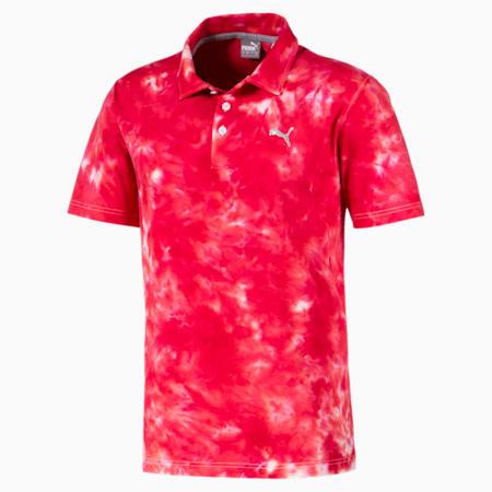 ゴルフ HAIGHT ポロシャツ 半袖, Barbados Cherry, small-JPN