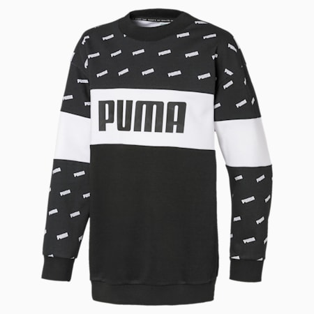Sweat Classics Graphics pour fille, Puma Black, small