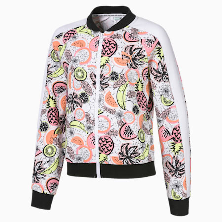 Classics Fruit-jakke til piger, Puma White, small