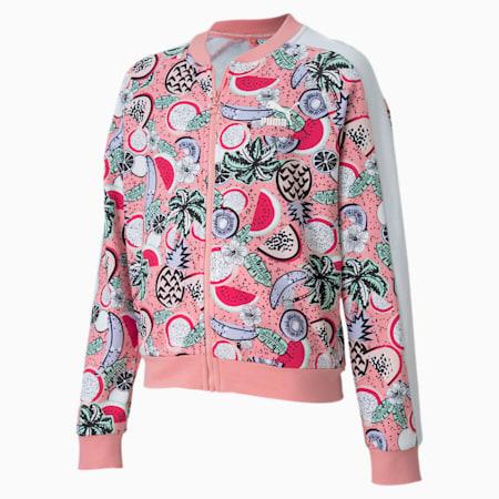 Classics Fruit Girls' Jacket, Peony, small