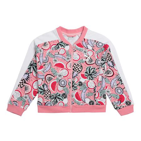 Classics Fruit Girls' Jacket, Peony, small-IND