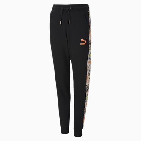 Classics Fruit Girls' Sweatpants, Puma Black, small