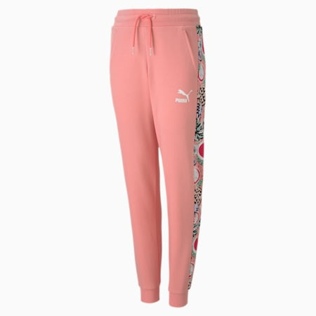 Classics Fruit Girls' Sweatpants, Peony, small