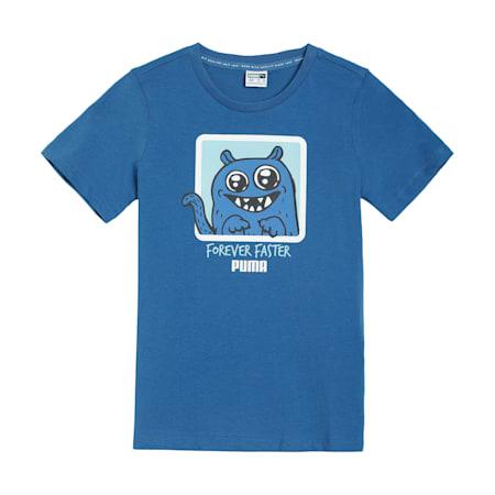 Monster T-Shirt, Bright Cobalt, small-IND