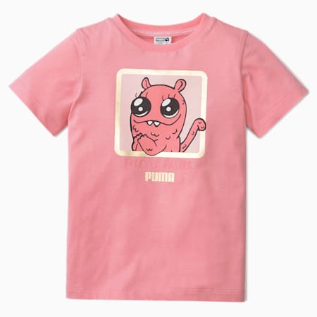 Monster Kids' Tee, Peony, small-SEA