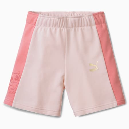 Monster Kids' Shorts, Rosewater, small