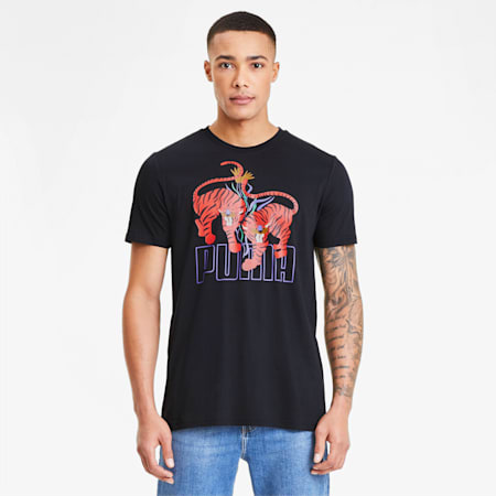 Art Series Men's Tee, Puma Black, small