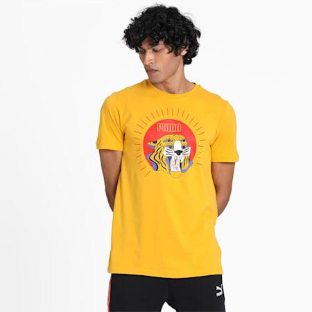 Art Series T-Shirt, Golden Rod, small-IND