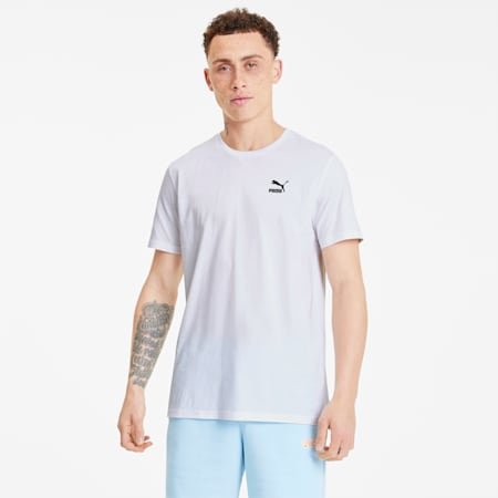 Streetwear Men's Graphic Tee, Puma White-puma black, small