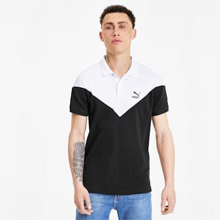 Iconic MCS Men's Slim Polo, Puma Black, small