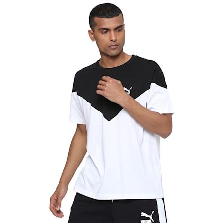 Iconic MCS T-Shirt, Puma White, small-IND