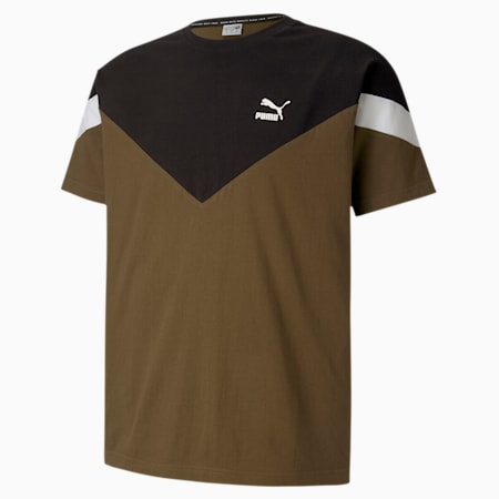 Iconic MCS T-Shirt, Dark Olive, small-IND