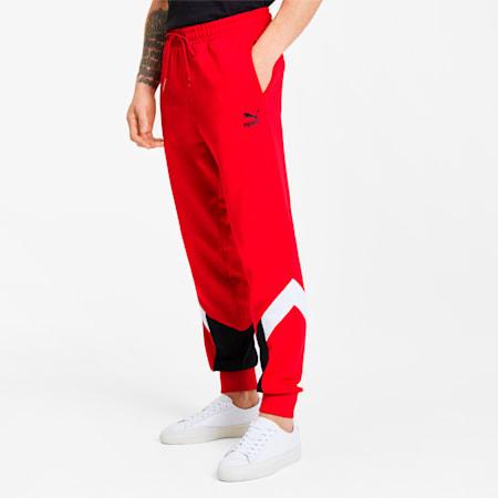 Pantalones deportivos Iconic MCS de hombre, High Risk Red, pequeño