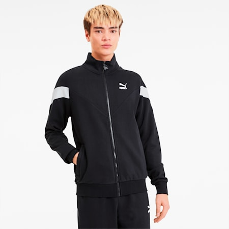 Iconic MCS FT Men's Track Jacket, Puma Black, small