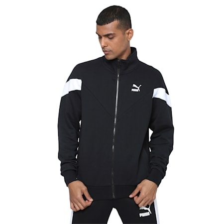 Iconic MCS Track Jacket FT, Puma Black, small-IND
