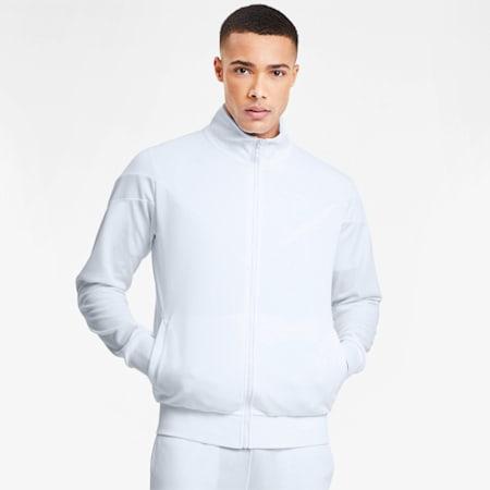 Iconic MCS Summer Men's Track Jacket, Puma White, small