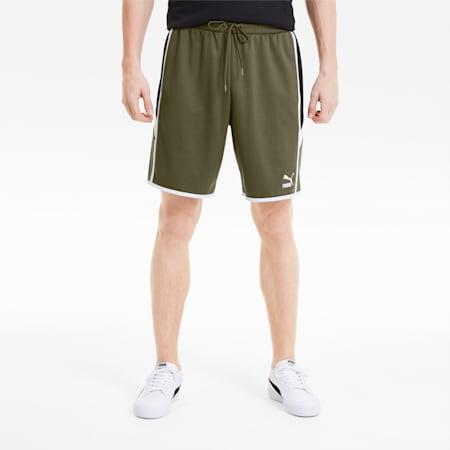 Iconic MCS Men's Shorts, Burnt Olive, small