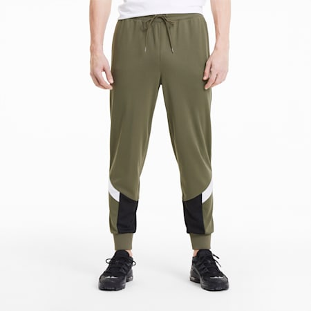 Iconic MCS Summer Men's Track Pants, Burnt Olive, small