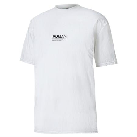 Avenir Crinkle T-Shirt, Puma White, small-IND