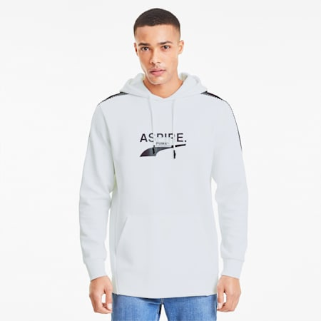 Avenir Men's Hoodie, Puma White, small